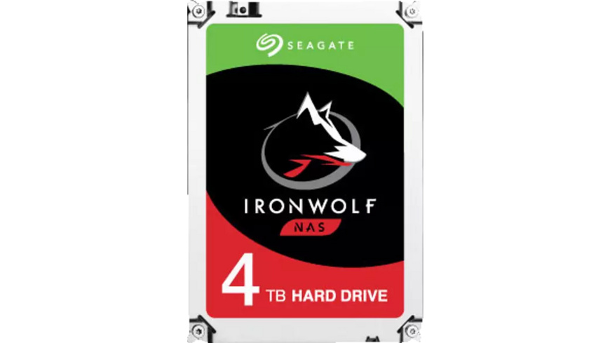 SEAGATE IronWolf, 4 TB HDD, 3.5 Zoll, intern