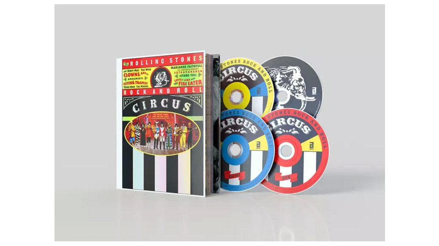 VARIOUS - Rock and Roll Circus (Limited Deluxe Edition) - (CD + DVD Video)