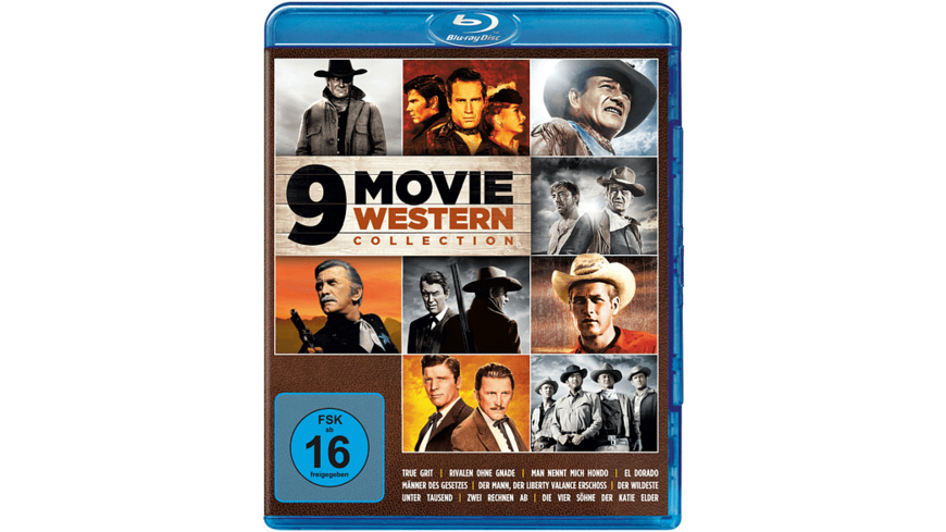 9 Movie Western Collection-Vol.1 - (Blu-ray)