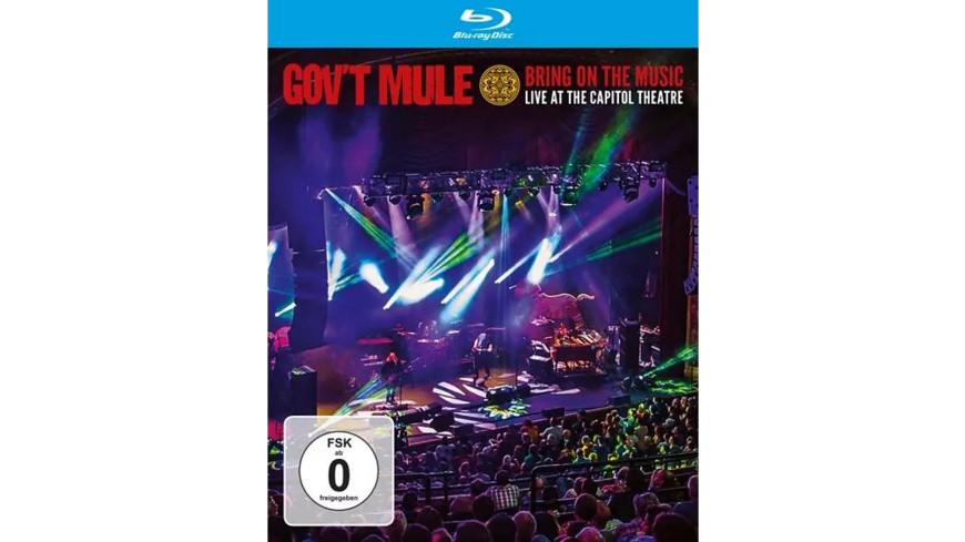 Gov't Mule - Bring On The Music-Live At The Capitol Theatre - (Blu-ray)