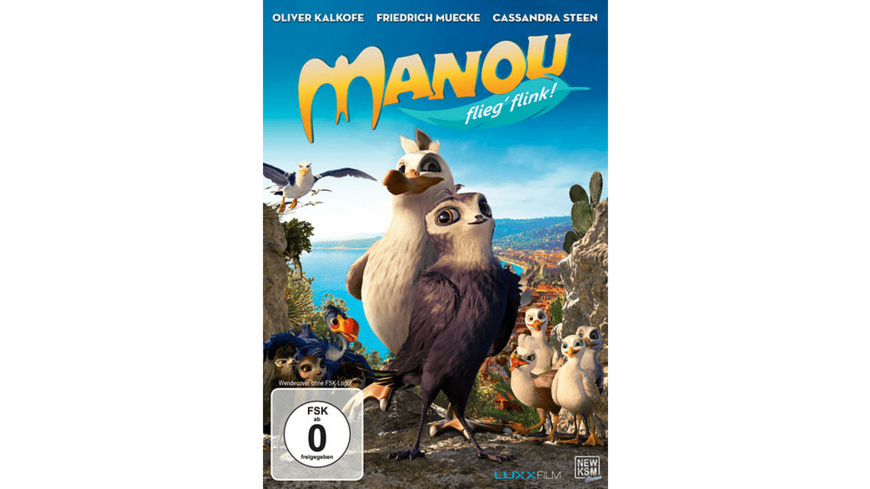 Manou - flieg' flink! - (DVD)