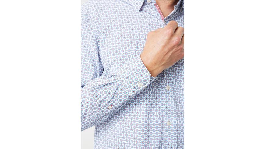 Hemd mit Stehkragen - Modern Fit