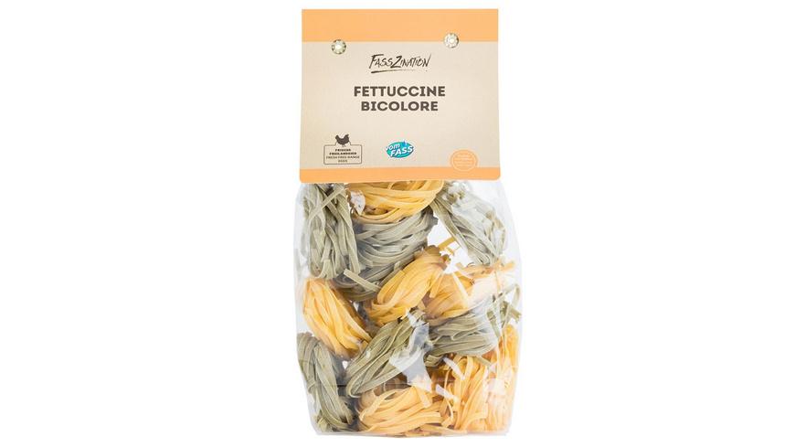 Bunte Südtiroler Eierteig-Fettuccine