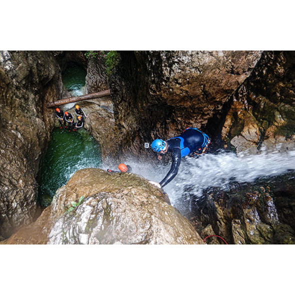 Canyoning Tour am Achensee & Seesauna