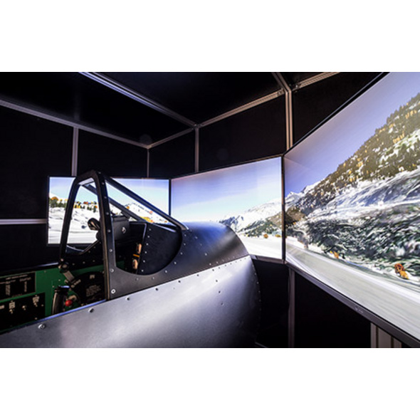 Historische Jagdflugzeuge Simulator
