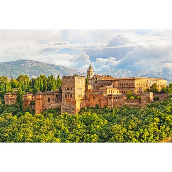 Städtetrip Granada mit Alhambra-Führung für 2 (3 Tage)