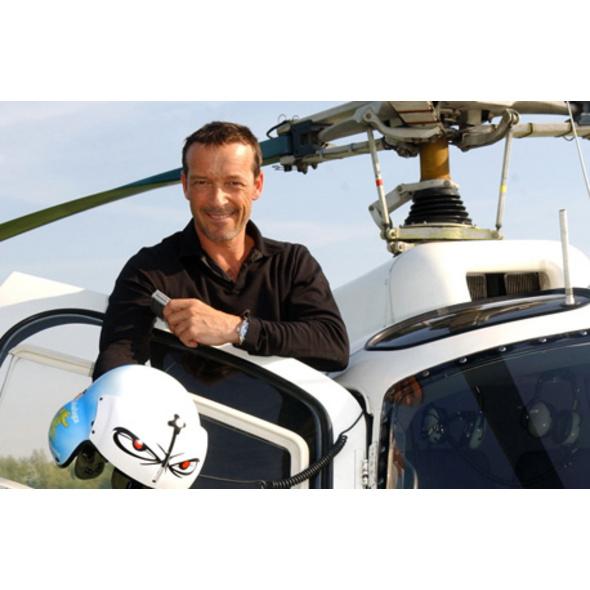 Heli-Flug mit Schauspieler Michael Roll für bis zu 4 Personen