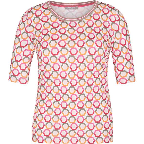 Shirt, Print, Rundhals, für Damen