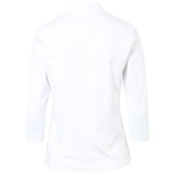 Basic Shirt mit Kelchkragen