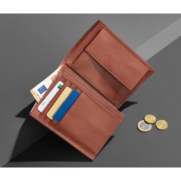 Leder-Portemonnaie