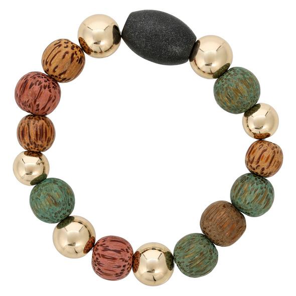 Armband - Nice Colorful Wood