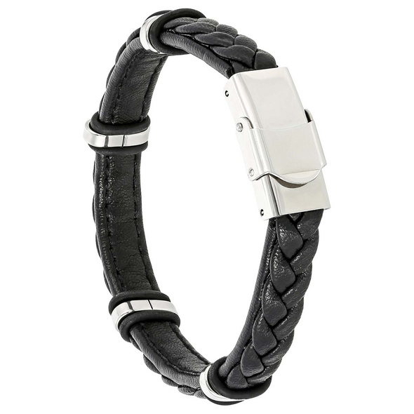 Armband - Black Stainless Steel