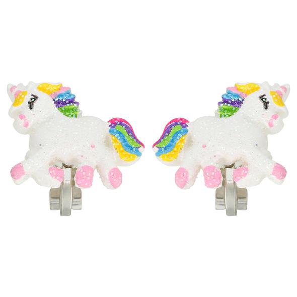 Kinder Ohrclips - Flying Unicorn