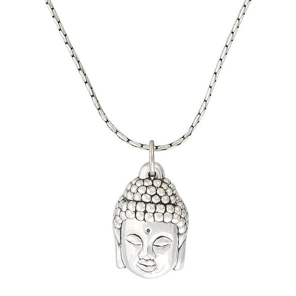 Kette - Silver Buddha