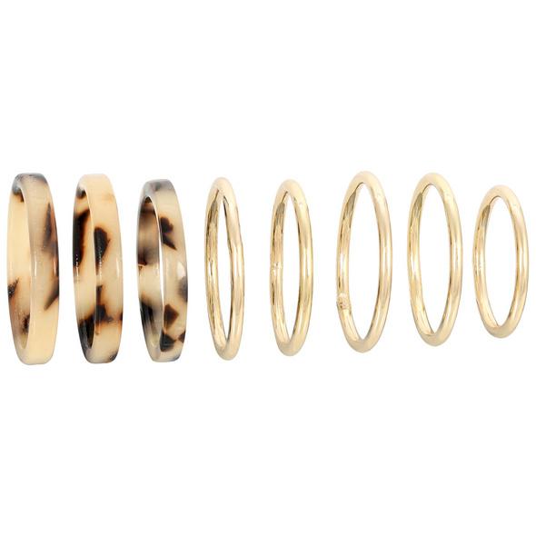 Ring-Set - Eternity Marble