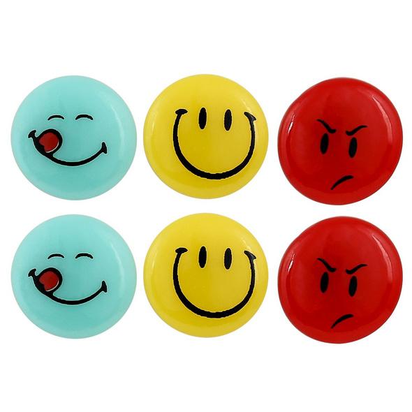 Kinder Ohrstecker - Smileys