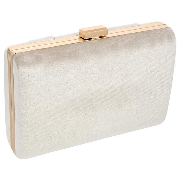 Clutch Box - Creme Velvet