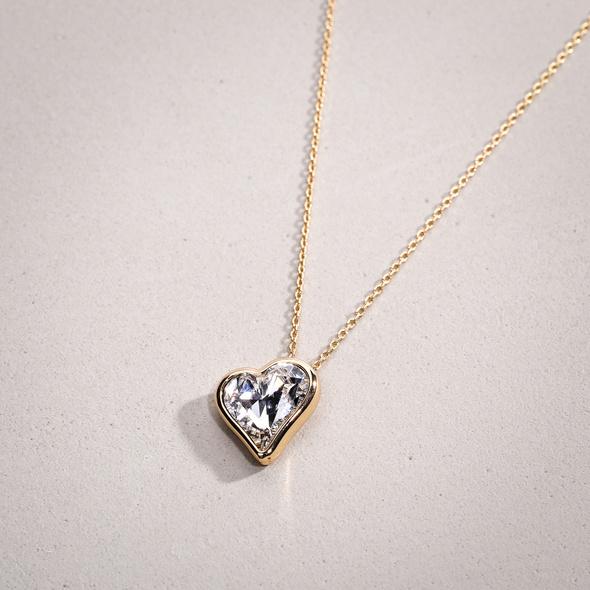 Kette - Sparkling Heart