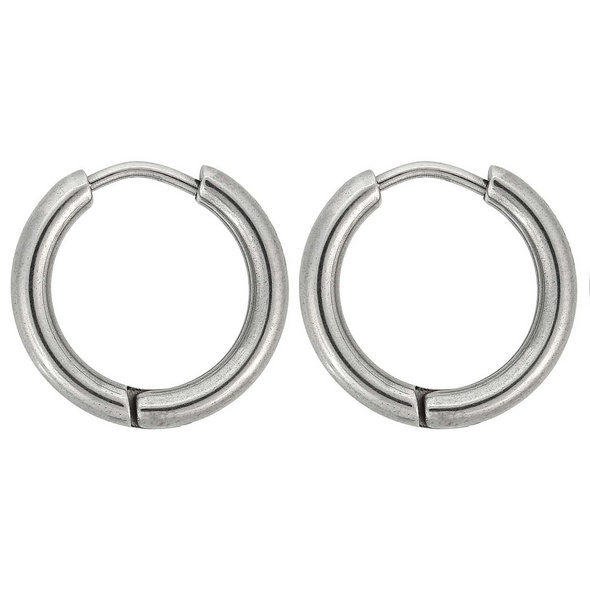 Creolen - Round Stainless Steel