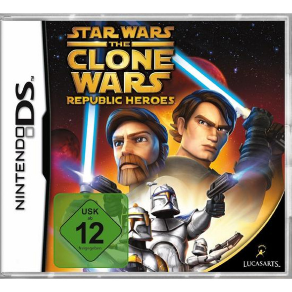 Lucas Arts Clone Wars Republic Heroes