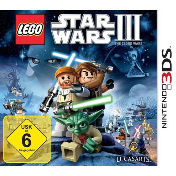 Lucas Arts 3DS Lego Star Wars 3 The Clone Wars