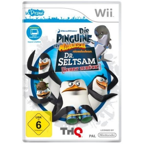 THQ Die Pinguine aus Madagascar Dr Seltsam kehrt zurück