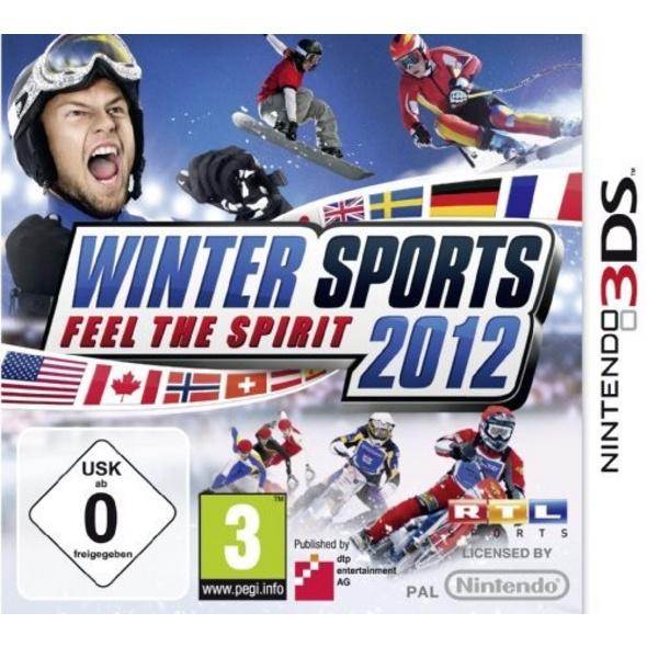 dtp Entertainment AG 3DS Winter Sports 2012 Feel the Spirit