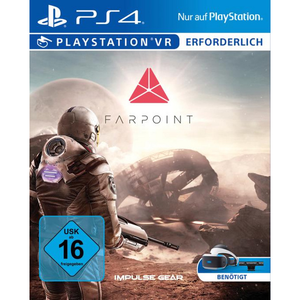 Sony Interactive Entertainment PlayStation VR Farpoint