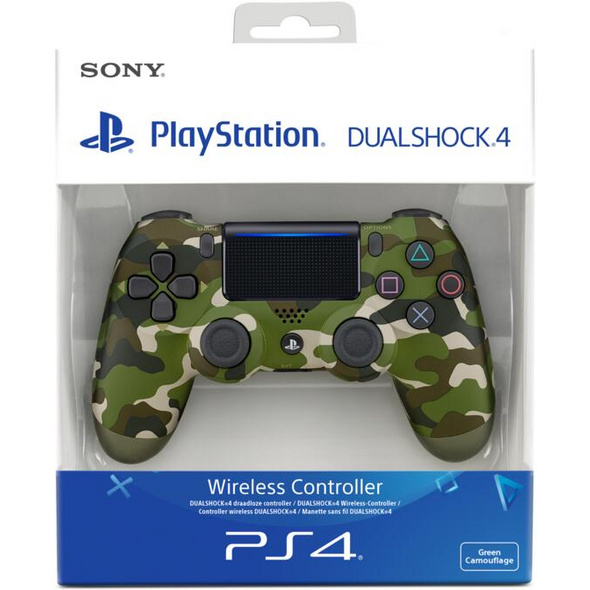 PS4 Dualshock 4 Controller Camouflage (2016)