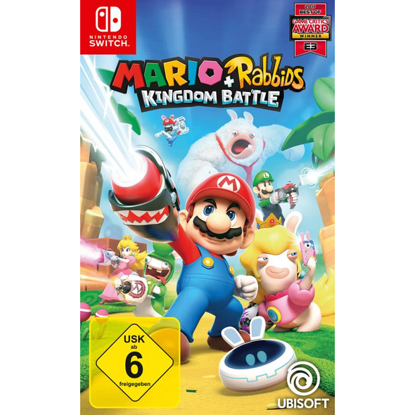 Mario & Rabbids Kingdom Battle