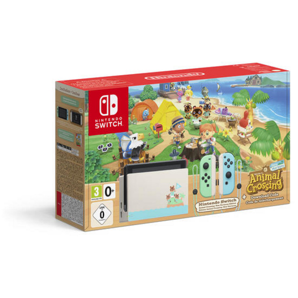 Nintendo Switch Konsole Animal Crossing New Horizons Edition