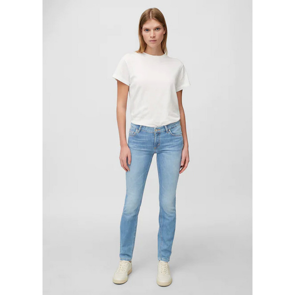 Jeans Modell ALBY slim mid waist