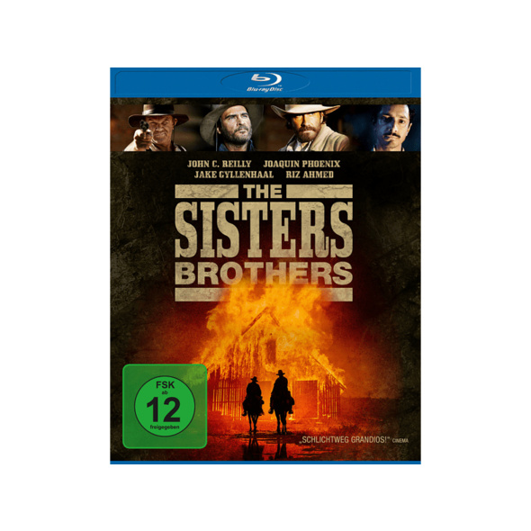 The Sisters Brothers - (Blu-ray)