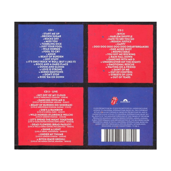 The Rolling Stones - Honk (Limited Deluxe Edition) - (CD)