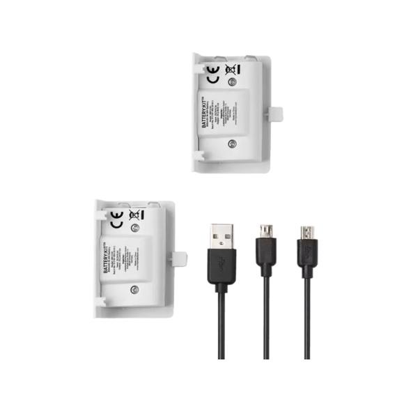 SNAKEBYTE XBOX ONE BATTERY:KIT WHITE wiederaufladbare Batterie, Weiß
