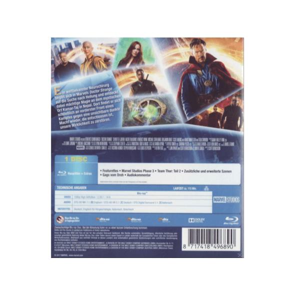 Doctor Strange - (Blu-ray)