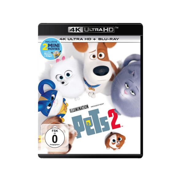 Pets 2 - (4K Ultra HD Blu-ray + Blu-ray)