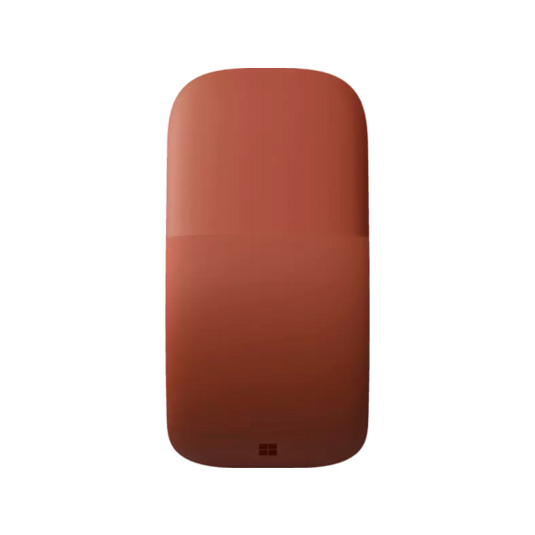 MICROSOFT Surface Arc Mouse Funkmaus, kabellos, Poppy Red
