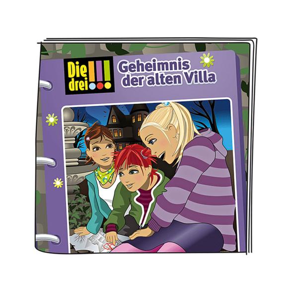 BOXINE Tonie Figuren: Die Drei!!! Das Geheimnis der alten Villa Hörfigur, Mehrfarbig