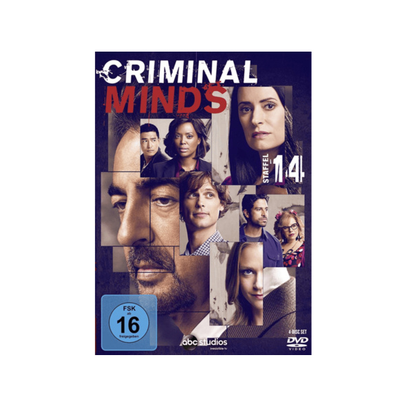 Criminal Minds - 14. Staffel - (DVD)