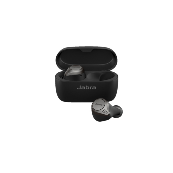 JABRA Elite 75t, In-ear, True Wireless Kopfhörer, Titan Schwarz