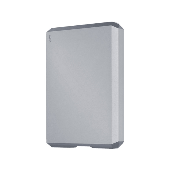 "LACIE Mobile Drive 4TB, USB-C, in Apple ""Space Grey"", 4 TB HDD, extern"