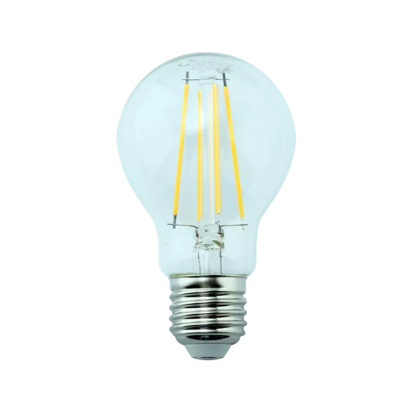 OK. OKLED-AE27-A60F-7W LED-Lampe, Weiß