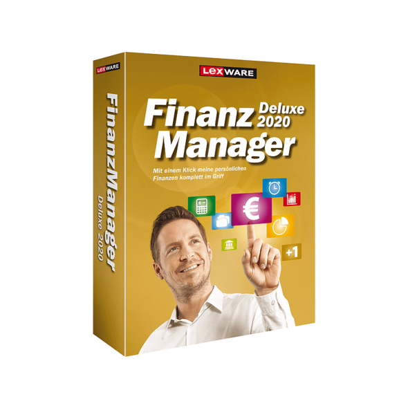 FinanzManager Deluxe 2020 (Box)