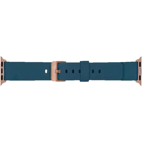 ARTWIZZ 4798-2965 Watchband Sili, Ersatzarmband, Apple, Watch Series 4-5 (40 mm) & 1-3 (38 mm), Nordic Blau