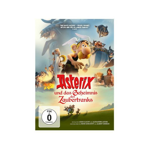 Asterix und das Geheimnis des Zaubertranks - (DVD)