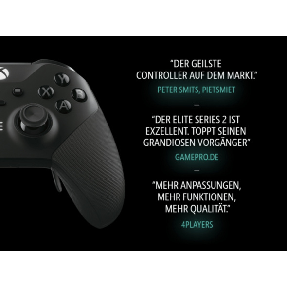 MICROSOFT Xbox Elite Series 2 Wireless Controller, Schwarz