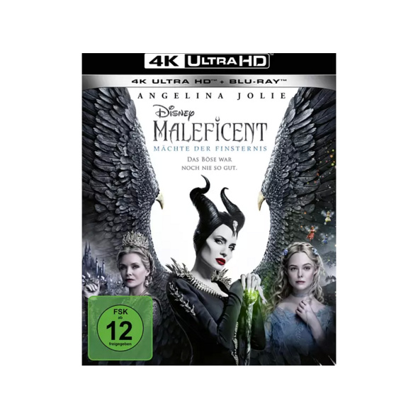 Maleficent: Mächte der Finsternis - (4K Ultra HD Blu-ray + Blu-ray)