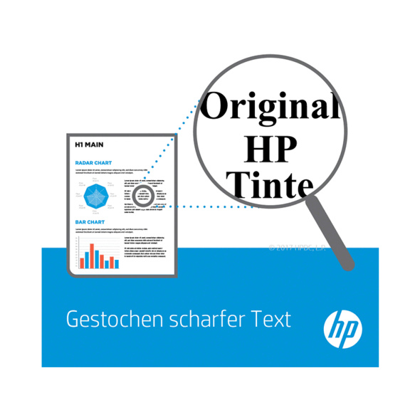 HP 15 Tintenpatrone Schwarz (C6615DE)