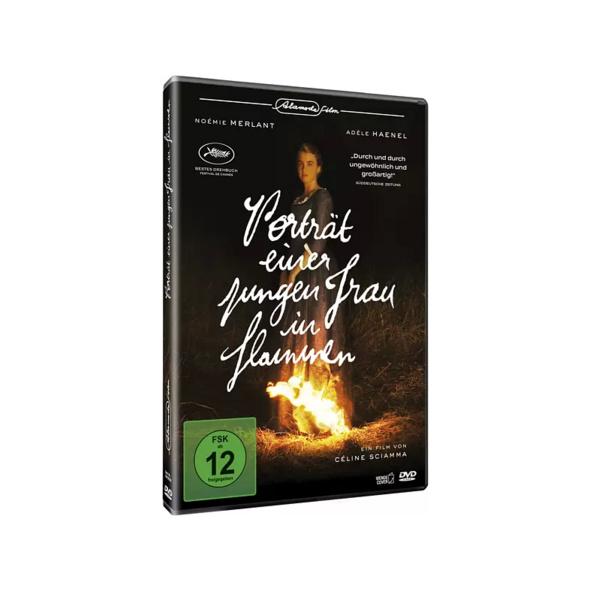 Porträt einer jungen Frau in Flammen - (DVD)